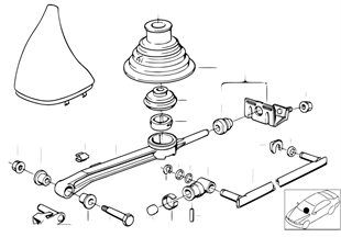 Gearshift manual transmission