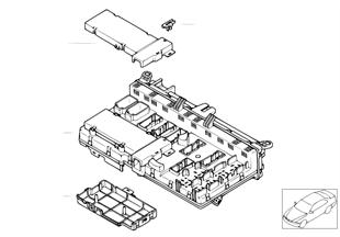 Детали блока предохранителей в салоне