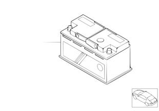 Orijinal, BMW-Akümülatör-Dolu