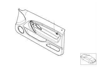 Индивидуальная обшивка двери с НПБ Пд