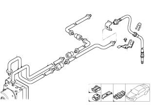 R ブレーキ ライン DSC
