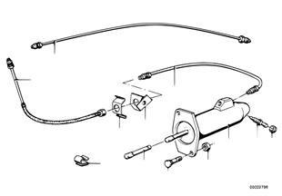 Cilindro receptor embragne