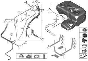 燃油箱/安裝件