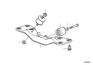Getriebeaufhängung/Schaltgetriebe