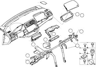 Доп.элементы панели приборов