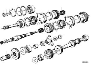 Getrag 262 齒輪零件