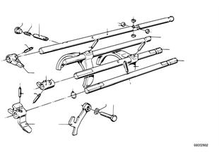 Getrag 242 inner gear shifting parts