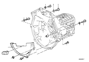 변속기, 설치부품/고정기구