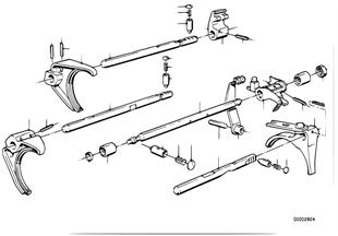 ZF S5-16,내부 변속기구