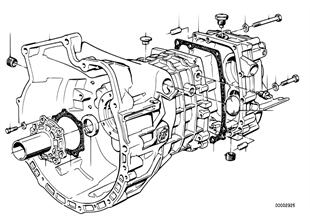 ชุดตัวเรือน+ชุดจับยึด ZF S5-16