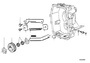 ชิ้นส่วนภายในชุดเปลี่ยนเกียร์ ZF S5-16