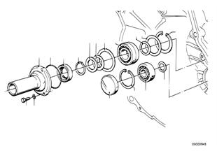 Getrag 245/10/11 housing+attaching parts