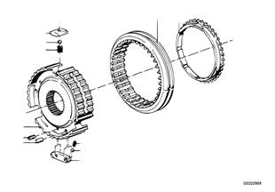 Getrag 265/5 synchron.reverse gear