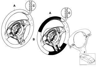 Individ. M sports strng whl airbag SA710