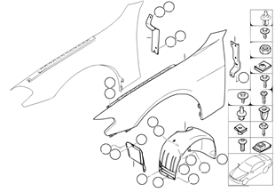 Fiancata anteriore