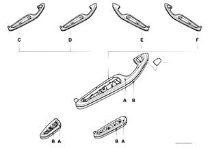 Ind. podłokietnik przedni i tylny