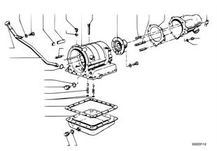 ZF 3HP12 Gehäuseteile/Ölwanne
