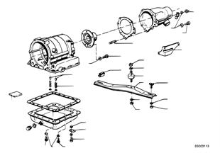 ZF 3HP12 Anbauteile/Aufhängung