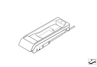 Pièces pour SA 639 — console centrale