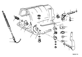 ZF 3HP12 Schaltung/Parksperre