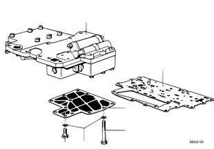ZF 3HP12 Schaltgerät + Anbauteile