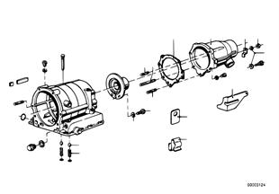 Zf 3hp20 prolongacion del engranaje