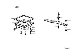 Zf 3hp20 suspension/carter de aceite