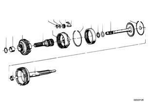 Zf 3hp20 juego de ruedas satelite