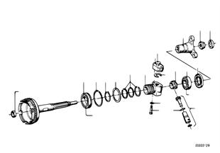 Zf 3hp20 salida/impulsion de tacometro