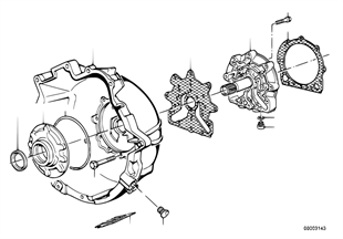 ZF 3HP22 Gehäuseteile/Ölversorgung