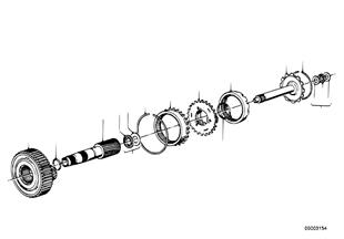 Zf 3hp22 juego de ruedas satelite