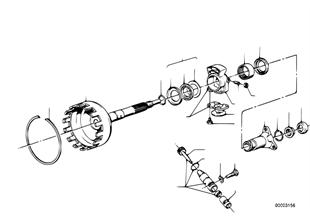 ZF 3HP22 Abtrieb