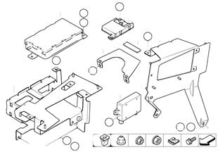 Single parts, SA 644, trunk