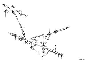 ZF 3HP22 Schaltung/Parksperre