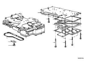 ZF 3HP22 Schaltgerät + Anbauteile