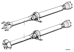 Drive shaft (constant-velocity joint)