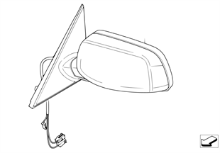 Наружное зеркало (S430A)