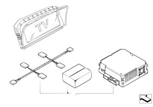 Комплект дооснащения системы ТВ