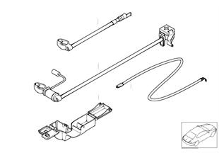 Câble de batterie (batterie avant)