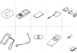 โทรศัพท์มือถือ Siemens S10