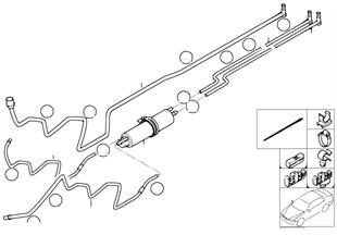 Przewody paliwa/Filtr paliwa