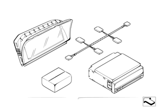 Комплект дооснащения системы навигации