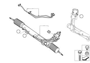 Рулевой механизм с гидроусилителем
