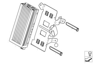 Amplificador/soporte sist. audio indiv.