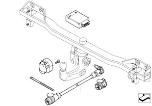 Elektrikteile Anhängerkupplung