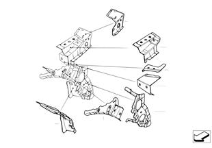 Verbindingsstuk voorbouw/zijraam
