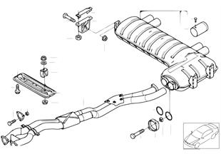 Tubo intermedio/Silenciador adicional