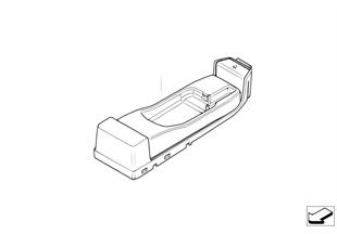 Onderdelen SA639/SA664 middenconsole