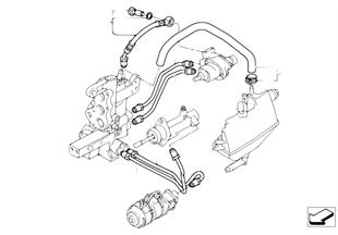 GS5S31BZ(sekv.převod.) hydraul. vedení