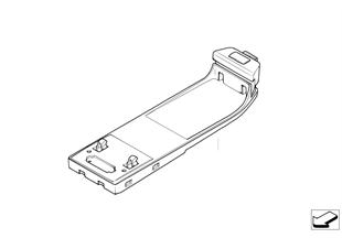 Детали SA 633 в центральной консоли
